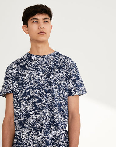 BELLFIELD STORMA MENS T-SHIRT | NAVY