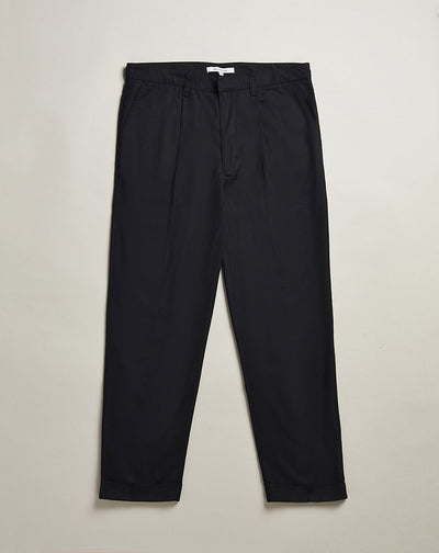 BELLFIELD SUSSUDIO CROPPED MENS TROUSERS | BLACK