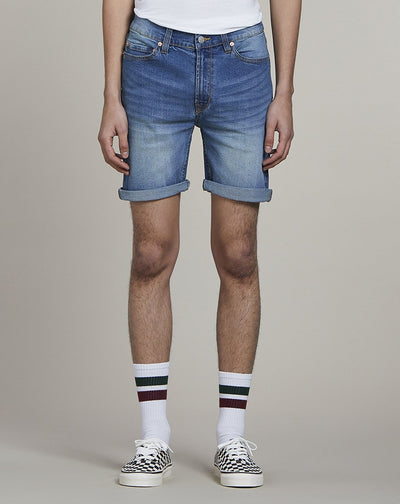 BELLFIELD TOULON DENIM MENS SHORTS | VINTAGEWASH