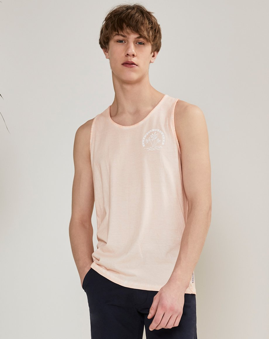 BELLFIELD UMI MENS VEST | WASHED PINK