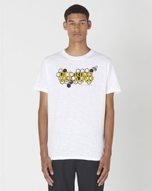 BELLFIELD UNISEX BEE 100% ORGANIC SHORT SLEEVE T-SHIRT | WHITE