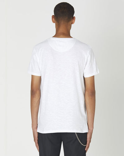 BELLFIELD UNISEX SEA 100% ORGANIC SHORT SLEEVE T-SHIRT | WHITE