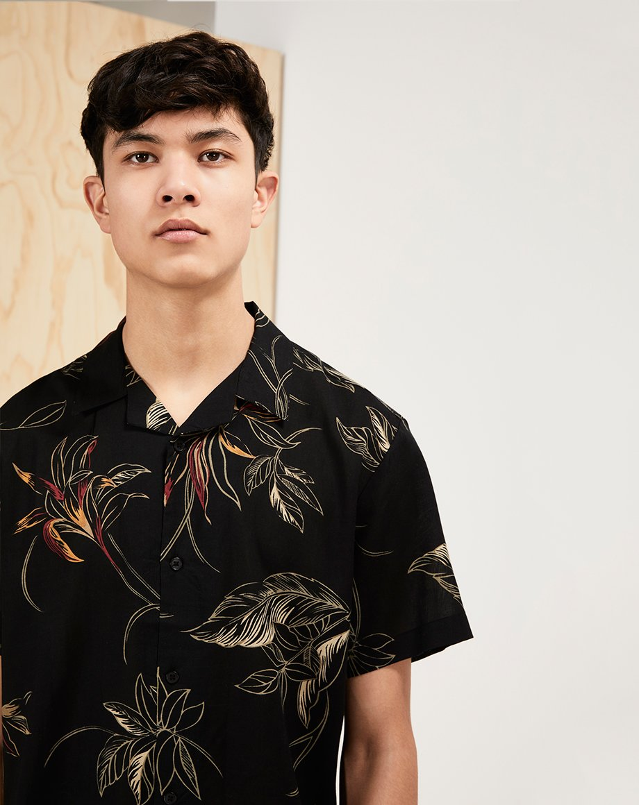 BELLFIELD VENUS MENS SHIRT | BLACK