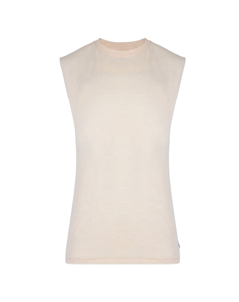 BELLFIELD VOLOS SLEEVELESS MENS T-SHIRT | OATMEAL