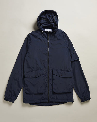 BELLFIELD VOYAGE HOODED MENS KAGOULE | NAVY