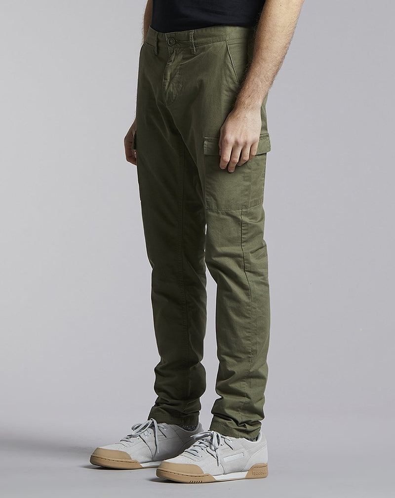 BELLFIELD WILLZA CARGO MENS TROUSERS | KHAKI