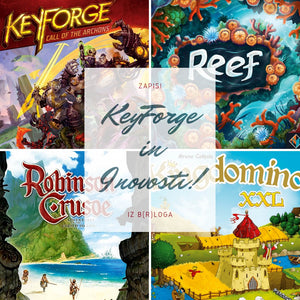 Keyforge in (j)essenske novosti