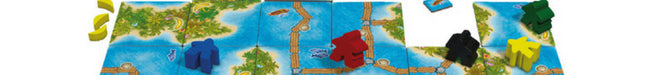 Carcassonne South Seas Družabna igra Board Game Pravi Junak Blog