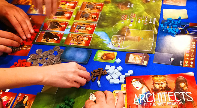 Essen SPIEL 2018 Architects of the West Kingdom Družabne igre Board Games Pravi Junak