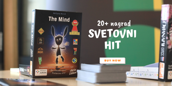 družabna igra s kartami pravi junak karte the mind bestseller card game close up