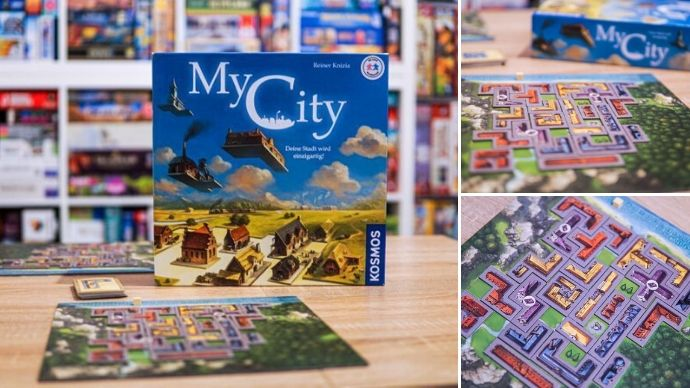 družabna igra My City na mizi foto we love board game
