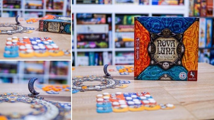 družabna igra Nova Luna na mizi foto we love board game instagram