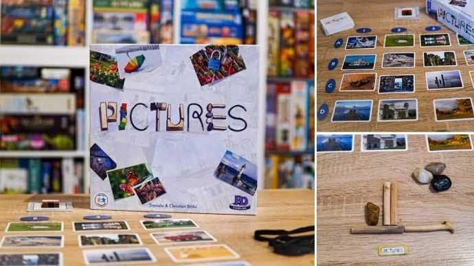 družabna igra Pictures na mizi foto we love board game