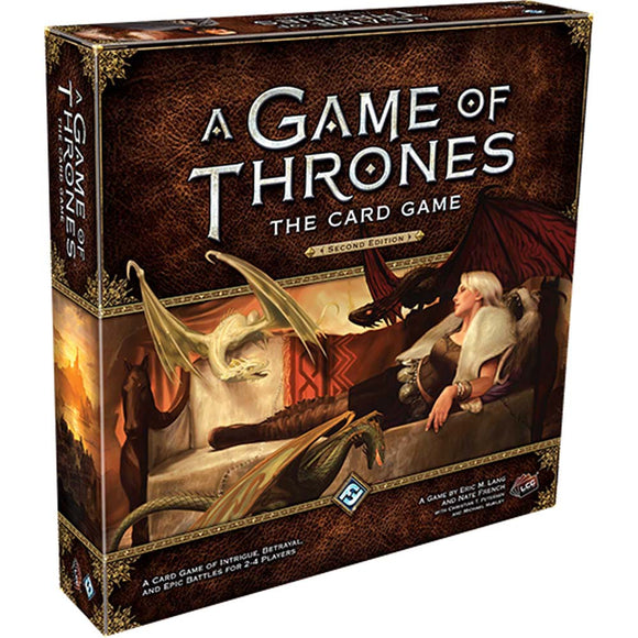 a game of thrones the card game škatla naslovnica cover card game
