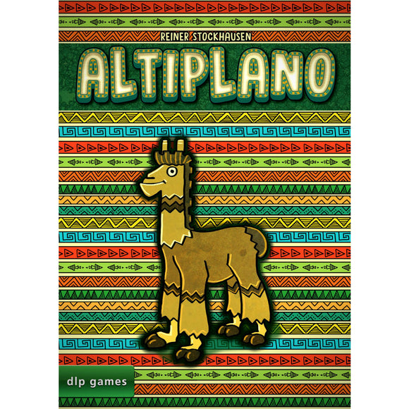 Altiplano Družabna igra Board Game Cover