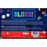 Družabna igra Bloxx! Board Game Box Back Pravi Junak