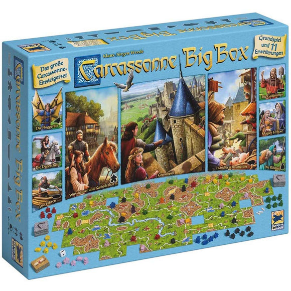 hans im gluck carcassonne big box deutsch german škatla naslovnica 3d box cover board game