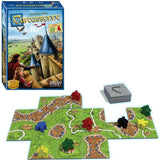 Družabna igra Carcassonne Edition 2 Board Game Components Pravi Junak