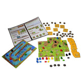 Carcassonne Gold Rush Components