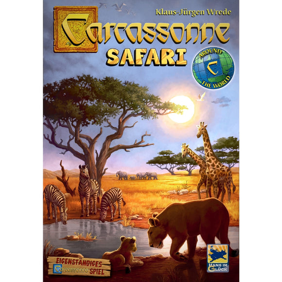 Družabna igra Carcassonne: Safari Board Game Cover Pravi Junak