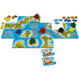 Carcassonne South Seas Components