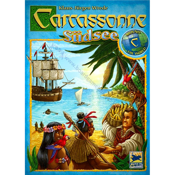 Carcassonne South Seas Cover