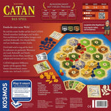 Družabna igra Catan board game back pravi junak
