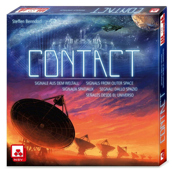 Družabna igra Contact Card Game Cover