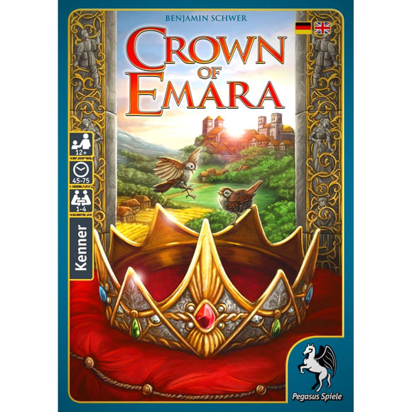 Crown of Emara Cover Družabna igra Board Games Pravi Junak