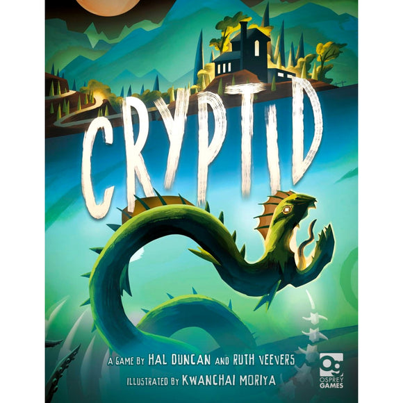 Družabna igra Cryptid Board Game Cover Pravi Junak