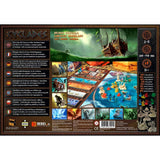 Družabna igra Cyclades Board Game Box Back Pravi Junak