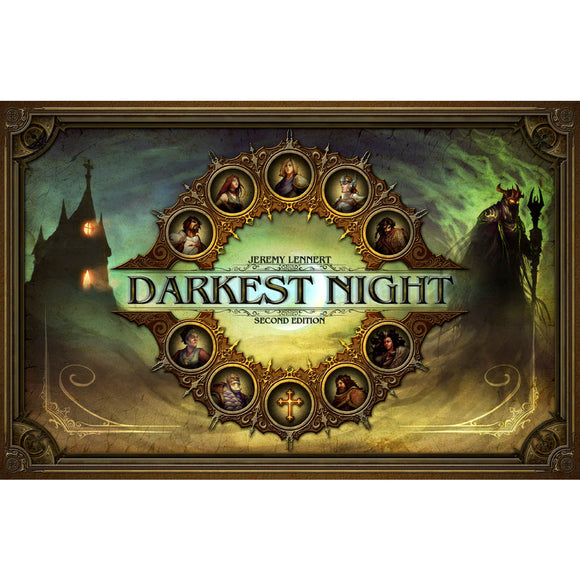 Darkest Night Second Edition Družabna igra Board Game Cover