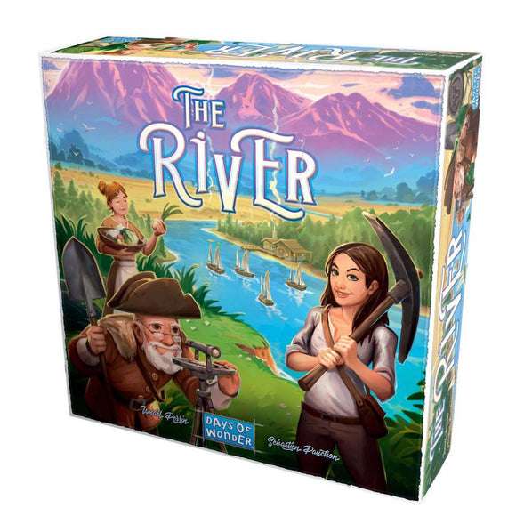 družabna igra days of wonder the river škatla naslovnica box cover board game