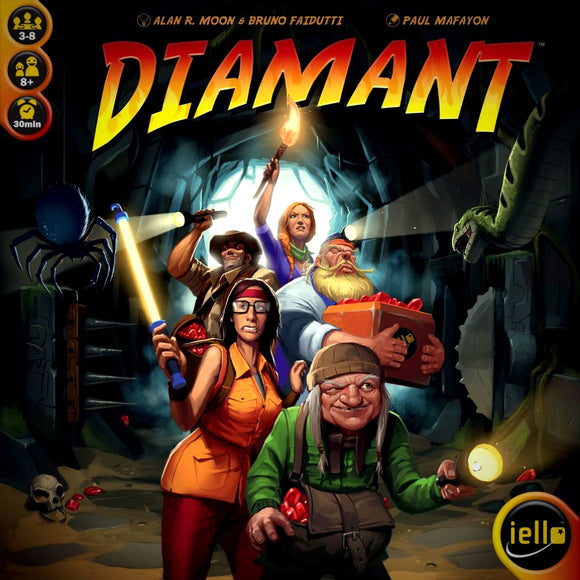Družabna igra Diamant Board Game Cover Pravi Junak