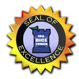 Družabe igra Board Game Seal of Excellence Dice Tower