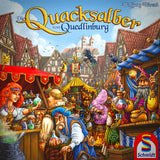 The Quacks of Quedlinburg Družabna igra Board Game Cover Schmidt Spiele