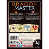 Družabna igra Dragon Master Board Game Back Box Pravi Junak