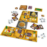 Družabna igra Escape: The Curse of the Temple Board Game Setup Pravi Junak