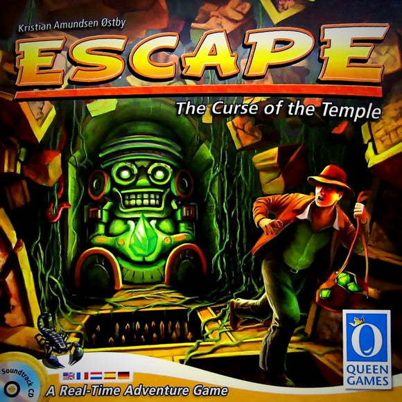 Družabna igra Escape: The Curse of the Temple Board Game Cover Pravi Junak