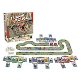 Flamme Rouge Components Družabna igra Board Game Pravi Junak