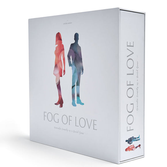 družabna igra fog of love box cover board game