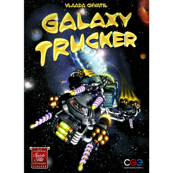 Galaxy Trucker Družabna Igra Board Game Cover