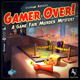 Družabna igra Gamer Over! A Game Fair Murder Mystery Board Game Cover Pravi Junak
