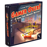 Družabna igra Gamer Over! A Game Fair Murder Mystery Board Game 3D Cover Pravi Junak