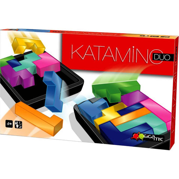 družabna igra gigamic katamino duo škatla naslovnica 3d box cover board game