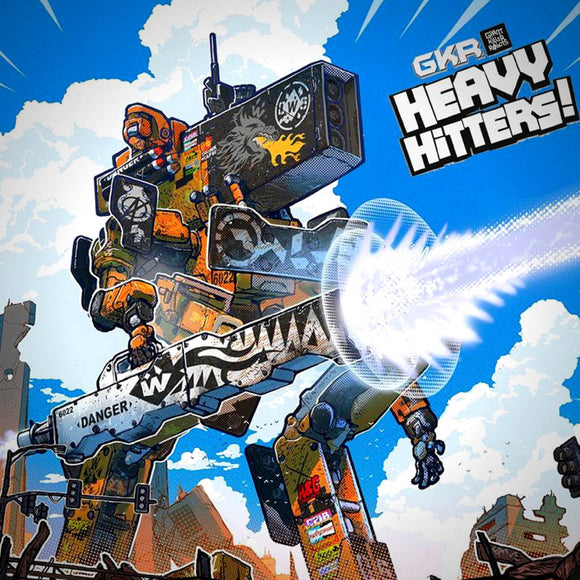 GKR Heavy Hitters Družabna igra Board Game Cover