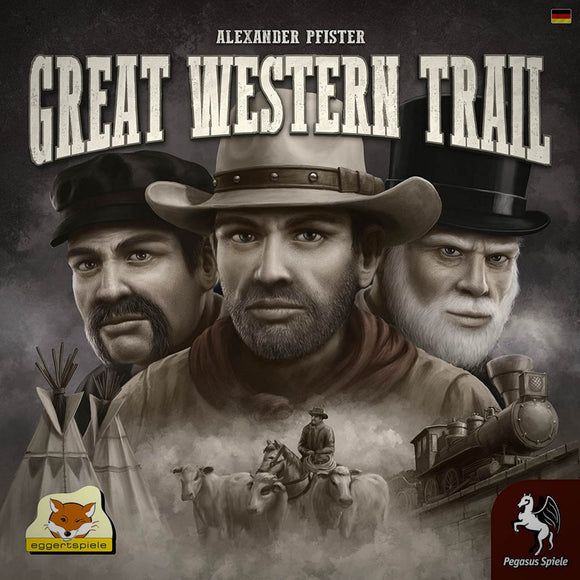 Great Western Trail Družabna igra Board Game Cover