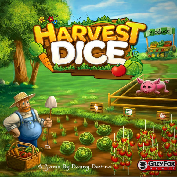 Družabna igra Harvest Dice Board Game Cover Pravi Junak