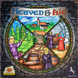 Heaven & Ale Družabna igra Board Game Cover