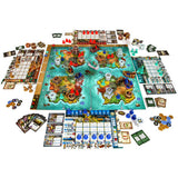 Heroes of Land Air & Sea Družabna igra Board Game Components